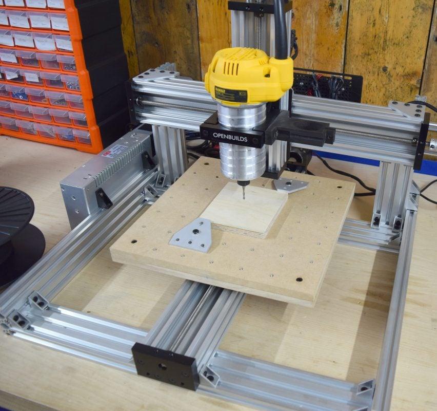 CNC Machine Ready To Cut