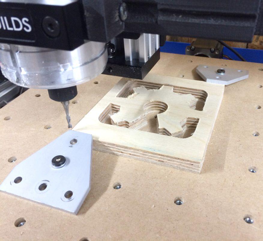 C-Beam Cutting Plywood