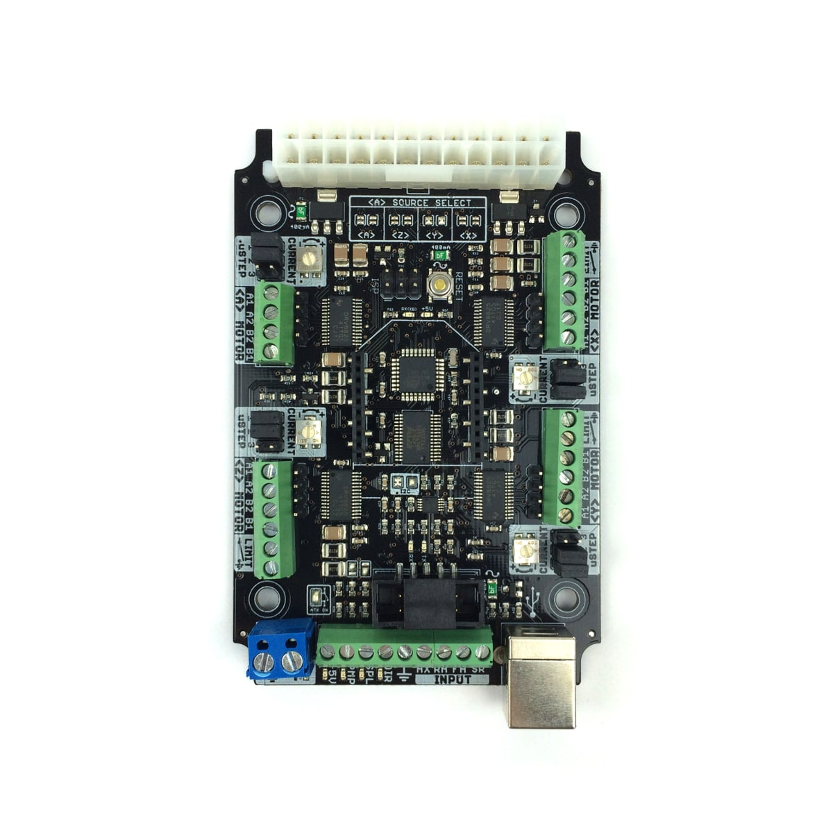 Cnc Xpro V3 Grbl Controller Board From Ooznest Power Wiring Diagram