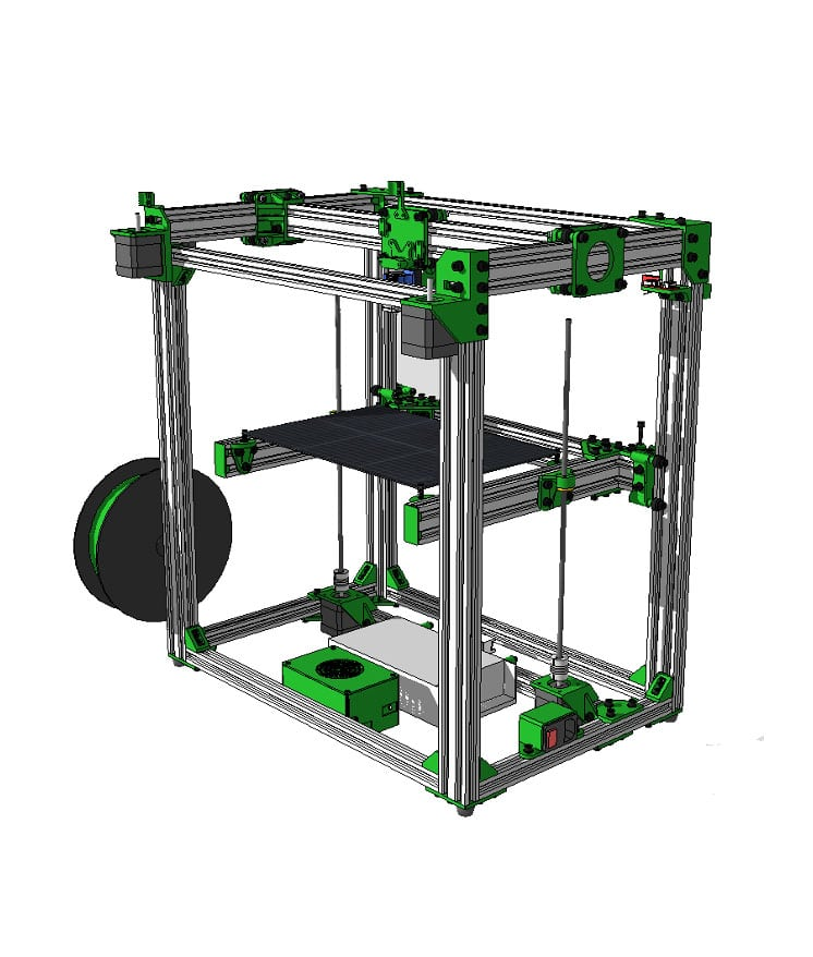 graphic relating to 3d Printable D&d Miniatures identified as D-Bot Rail Offer