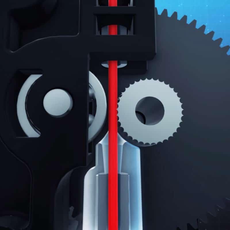 Titan Extruder Filament Path