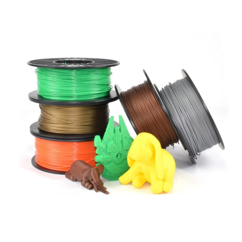ABS & PLA with e3d Lite6 hotend