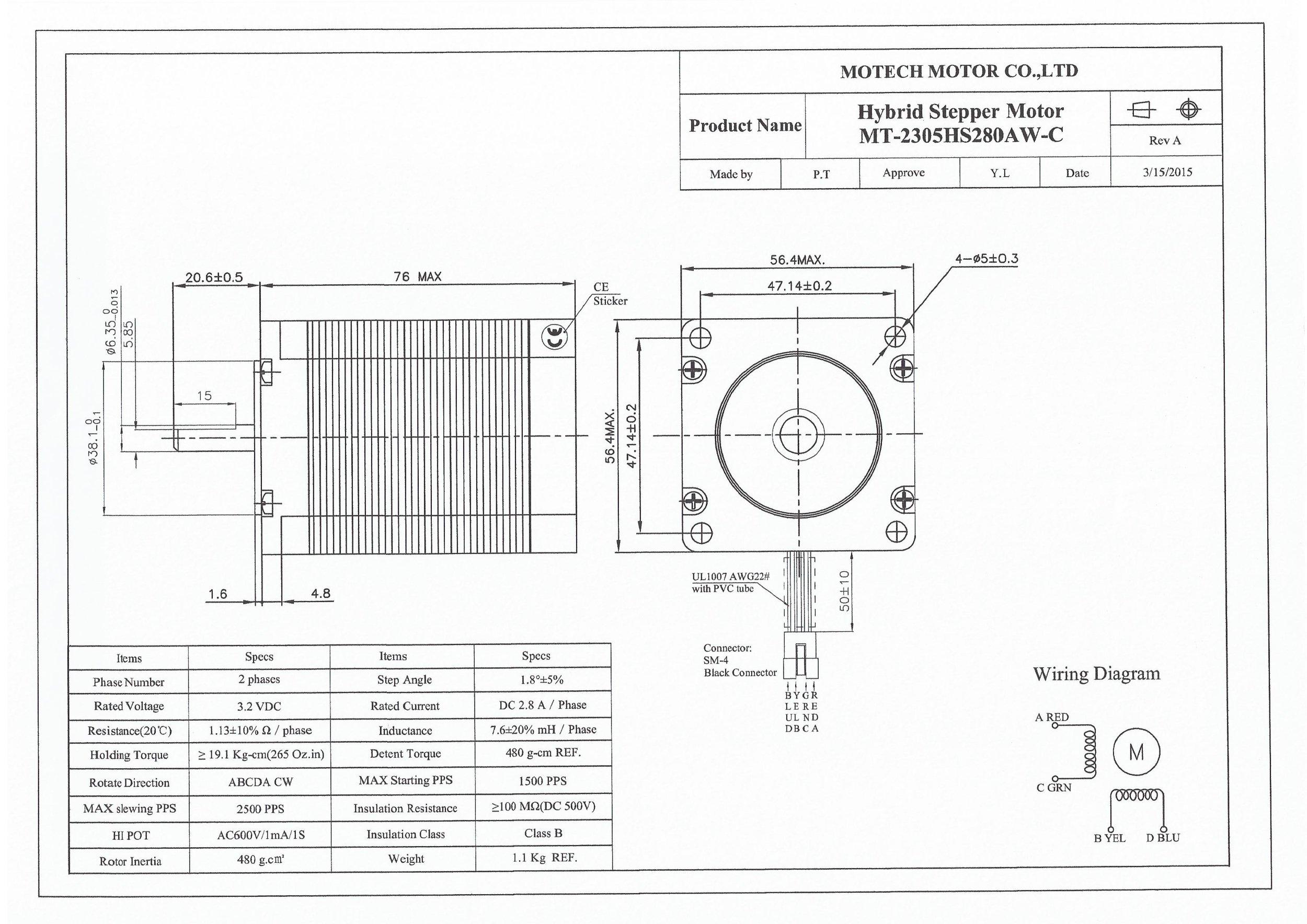 Nema23 Stepper Motors Ooznest Kits Parts Amp Supplies