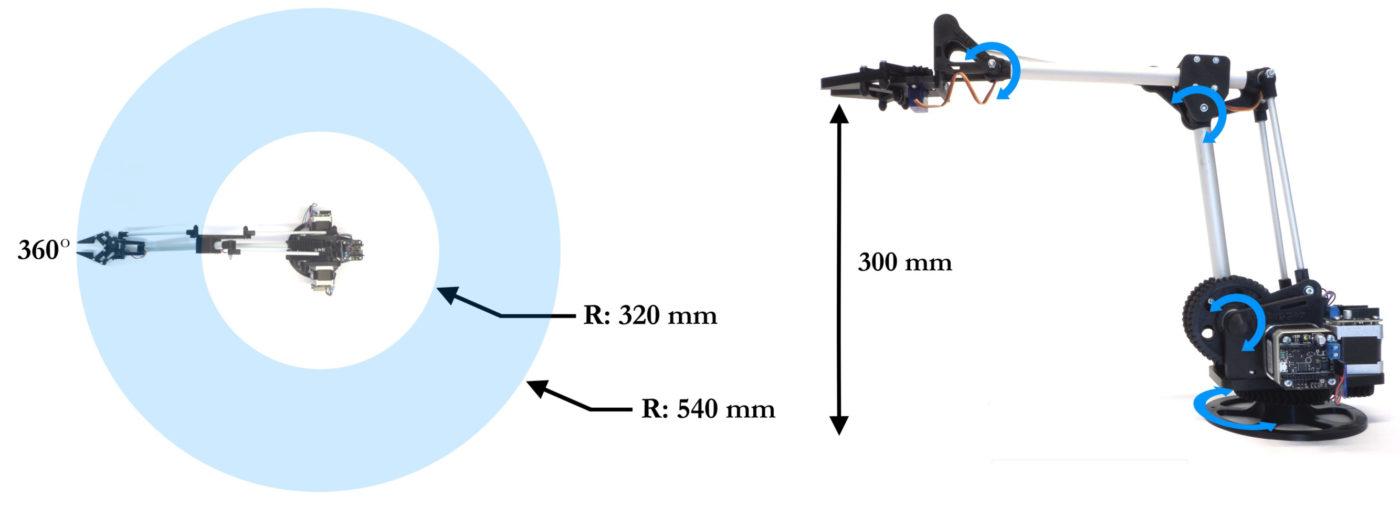 uStepper Robot Arm Movement