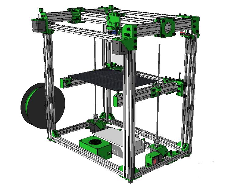D-Bot 3D Printer