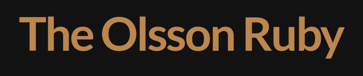 Olsson Ruby