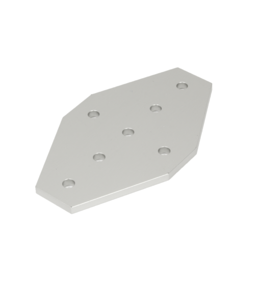 7 Hole Joining Plate Clear