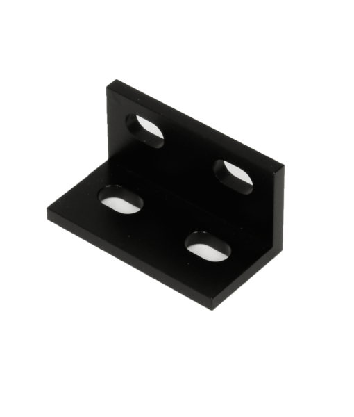 L Bracket Double Black