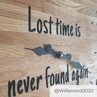 WorkBee Clock willswood2020