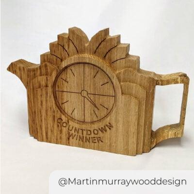 Countdown Martinmurraywooddesign@1000