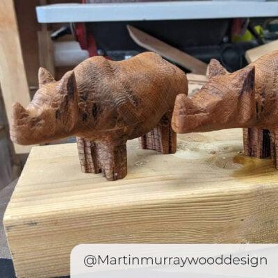 WorkBee Rhinos Martinmurraywooddesign