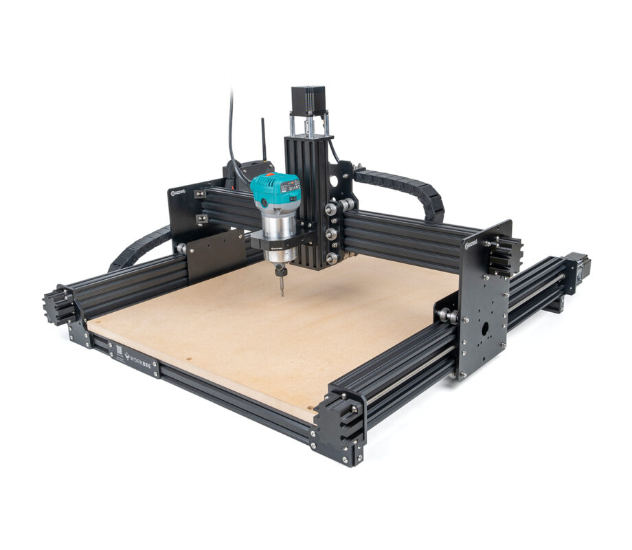 WorkBee CNC Machine Front Right