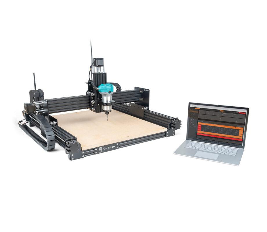 WorkBee CNC Machine Laptop