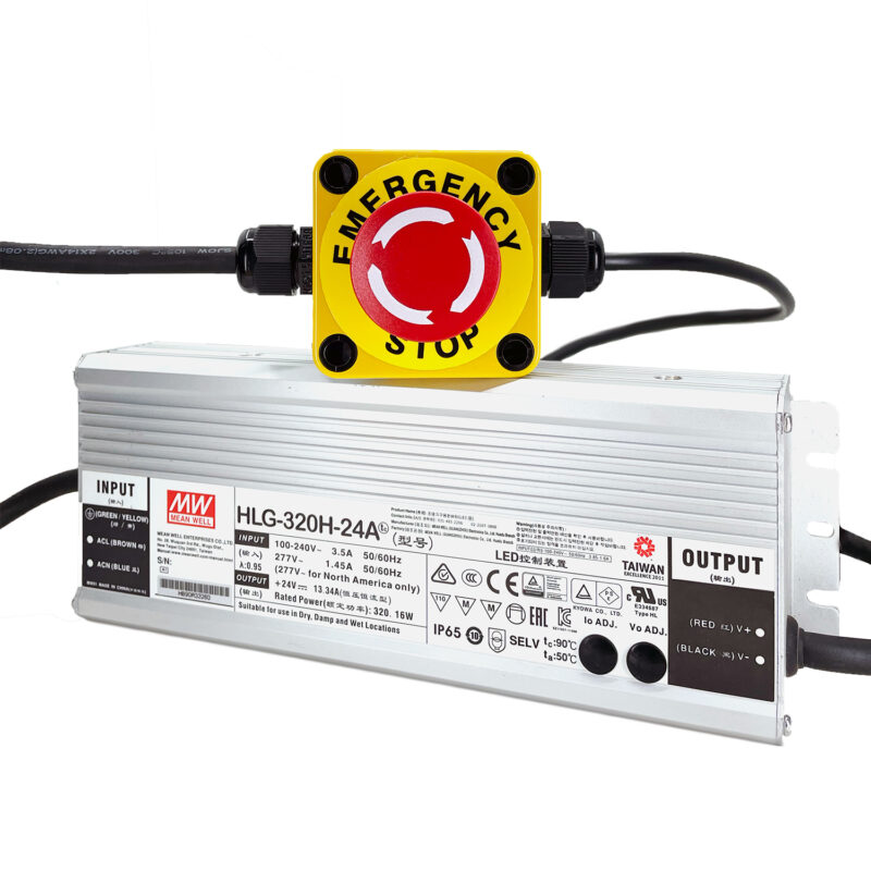 WorkBee Z1+ Power Supply & Emergency Stop